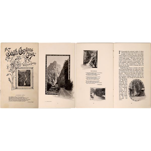 """""""South Cheyenne Canon with Pen & Camera"""" Booklet  [135295]"""