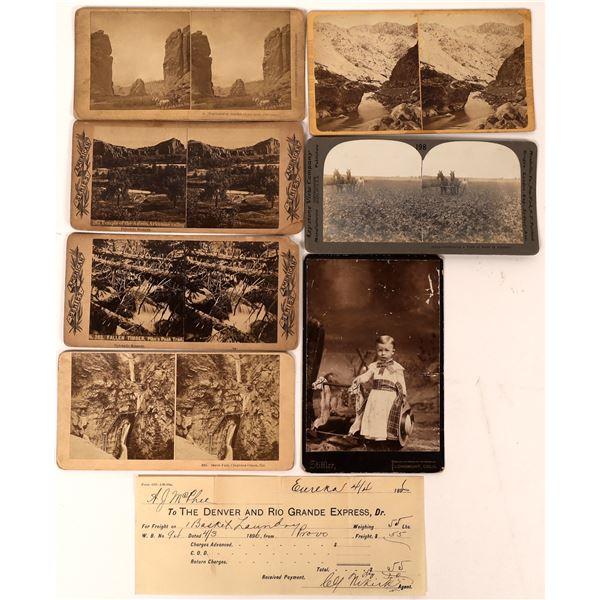 Colorado Stereoview Collection Plus Bonus  [134196]