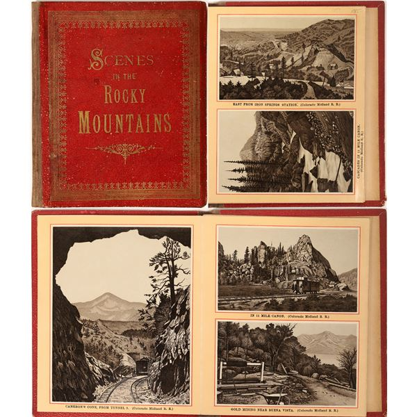 """""""Scenes in the Rocky Mountains"""" (Scenic Booklet)  [135734]"""