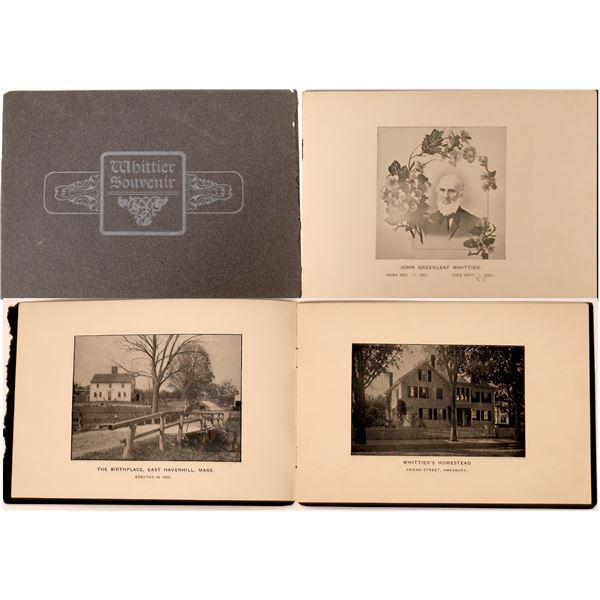Poet John Whittier Souvenir Booklet  [136894]