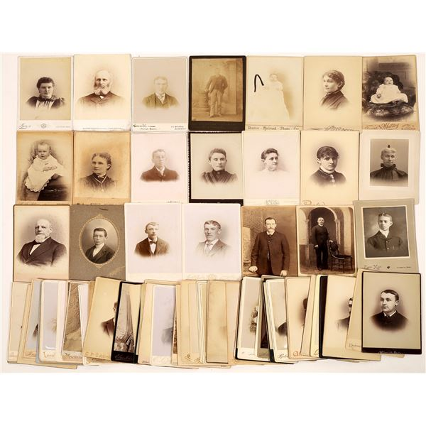 Massachusetts Cabinet Card Photograph Collection (71)  [137451]