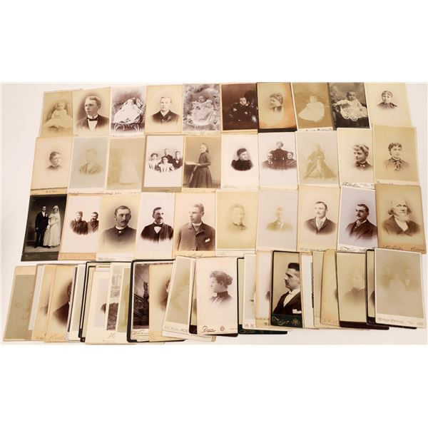 Michigan Cabinet Card Photograph Collection (84)  [133834]