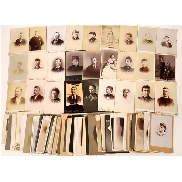 Minnesota Cabinet Card Photograph Collection (97)  [137450]