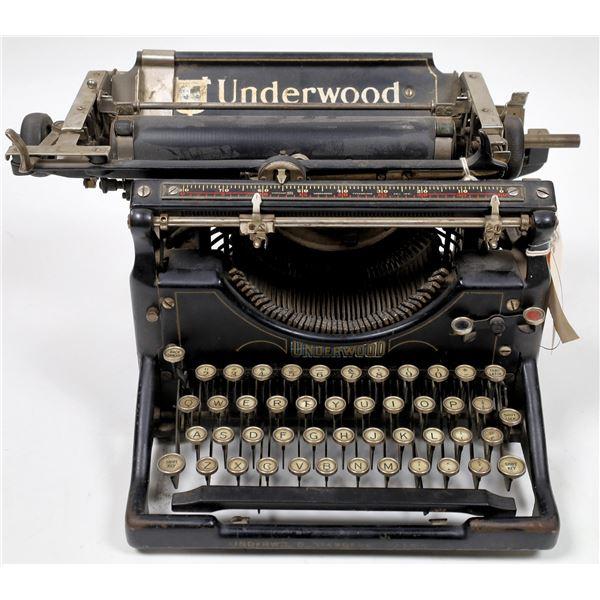 Underwood Typewriter  Model #5 from Harry's Business Machines Reno  [135017]