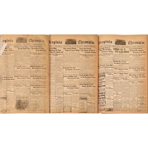 Virginia Evening Chronicle, July 1-Dec 31, 1918  [137423]