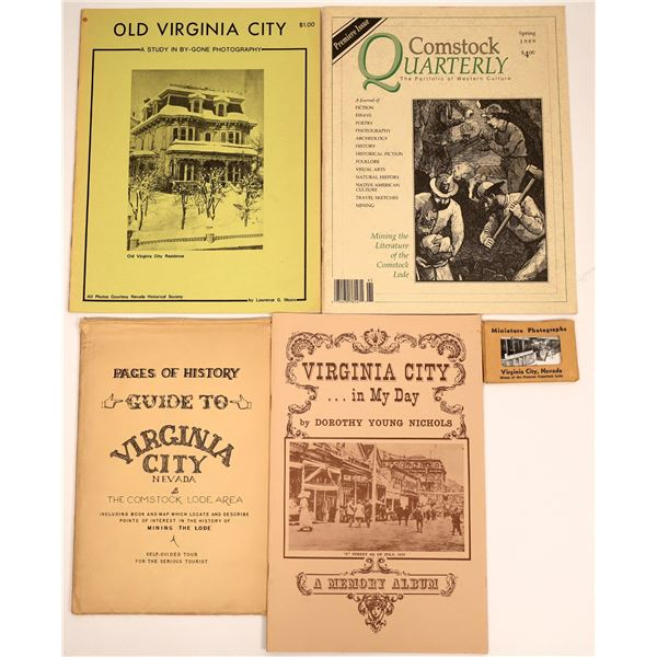 Books on the Comstock and Virginia City #1 (4)  [137482]