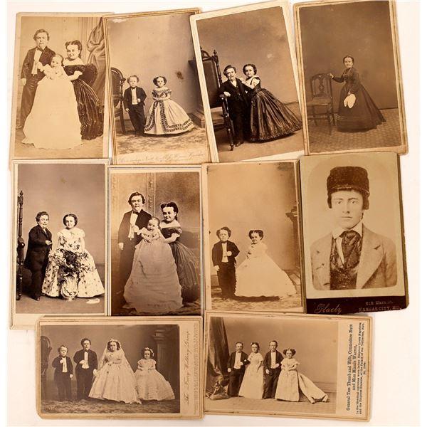 CDV Photos of the Tom Thumb Wedding including Mathew Brady photos  [137535]