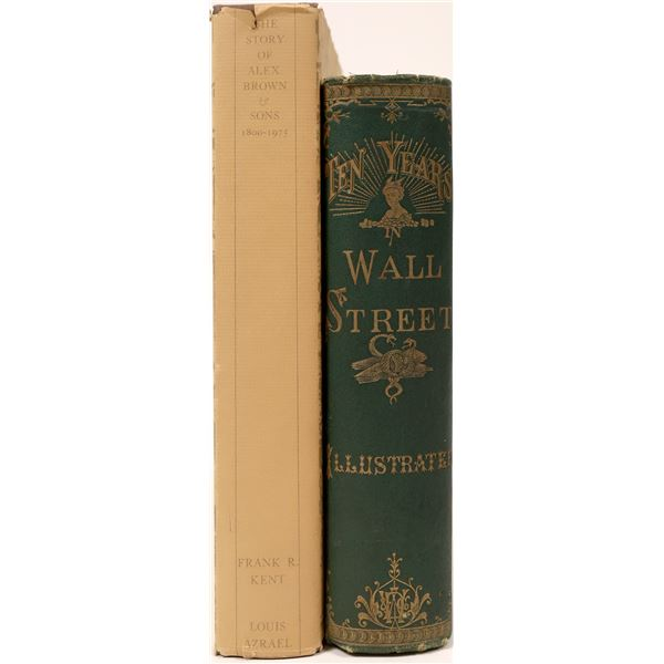 Two Books on Wall St., One Autographed  [128251]