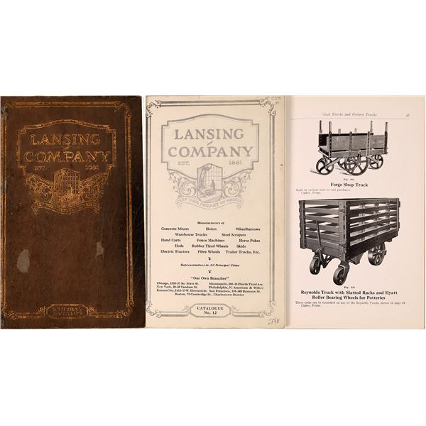 Lansing Company, N.Y (+10 Branches), Catalog No. 12  [137623]