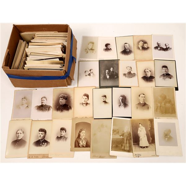 New York Cabinet Card Photograph Collection (221)  [133832]