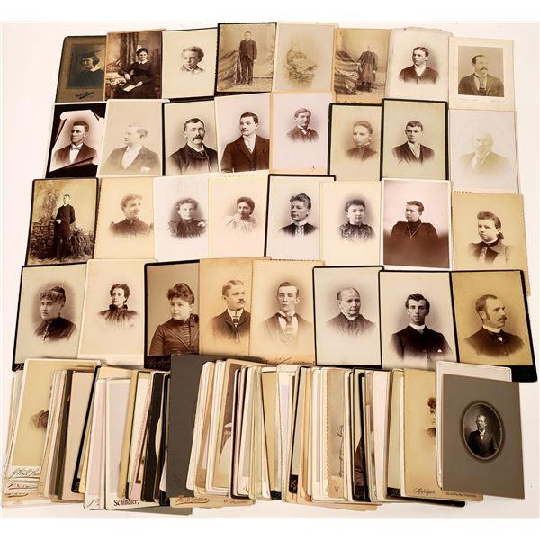 Pennsylvania Cabinet Card Photograph Collection (168)  [133836]