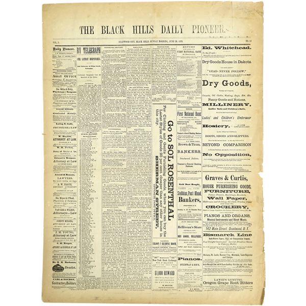 Deadwood Newspaper  [136020]