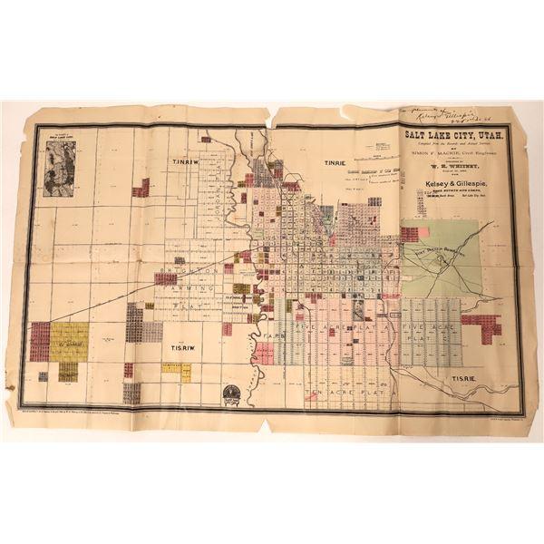 Salt Lake City Map 1889  [135672]