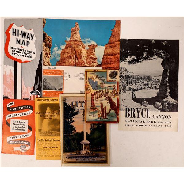 Utah National Parks Ephemera Collection  [135670]