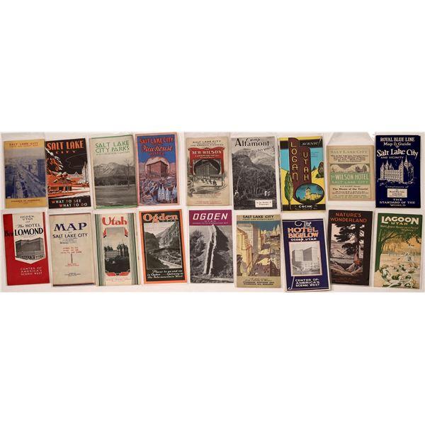 Utah Travel Brochure Collection  [132687]