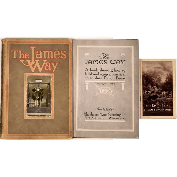 Early Dairy Catalogs (2)  [137489]