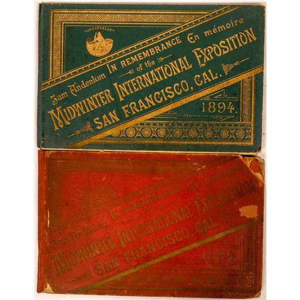 Cal. Midwinter International Exposition Booklets  [135204]