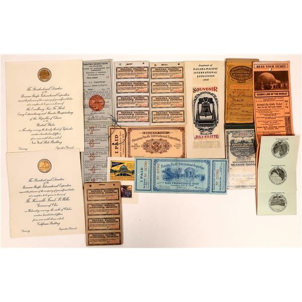 Pan-Pacific Expo. Ticket Collection  [135022]