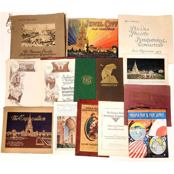 Pan Pacific International Exposition Pamphlet Collection  [135083]