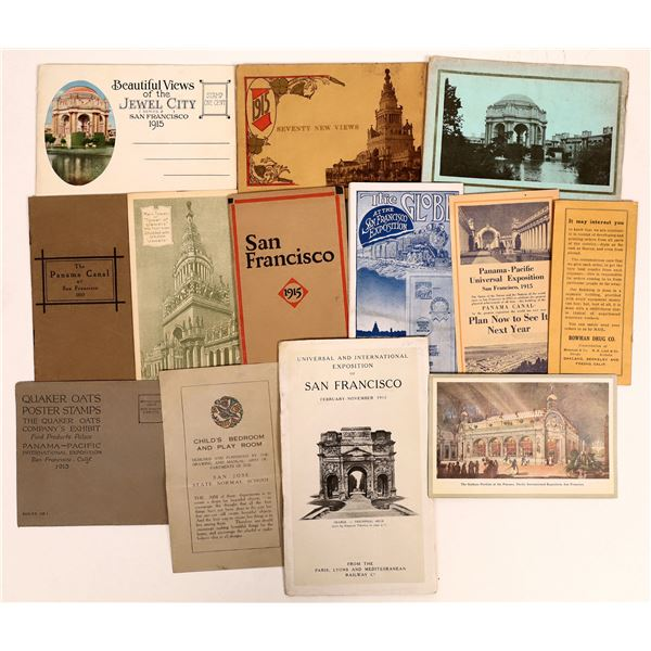 Panama-Pacific International Expo. Small Pamphlet Collection  [135023]
