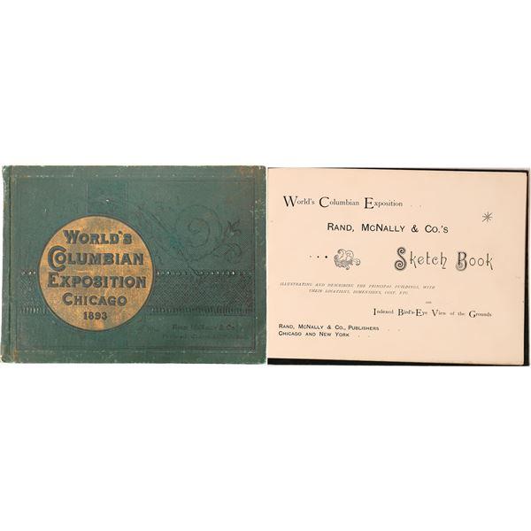 Columbia Exposition Souvenir Book  [136825]