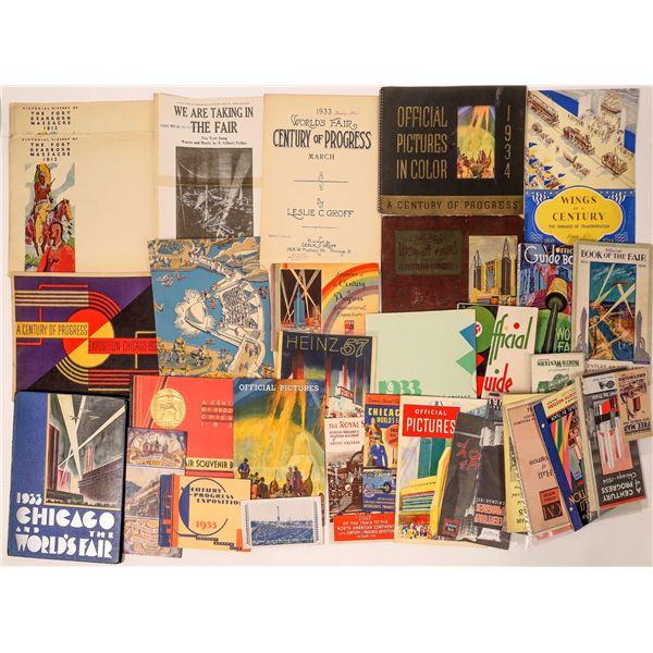 A Century of Progress Souvenir Collection  [135696]