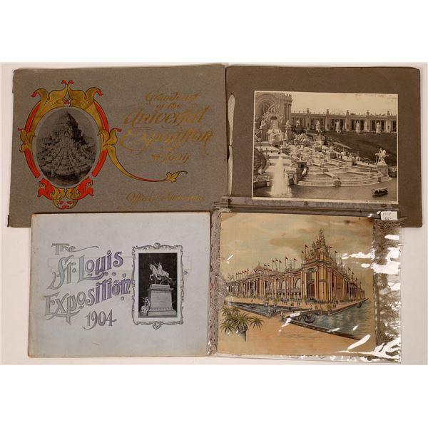 St. Louis Exposition Ephemera Group  [135240]