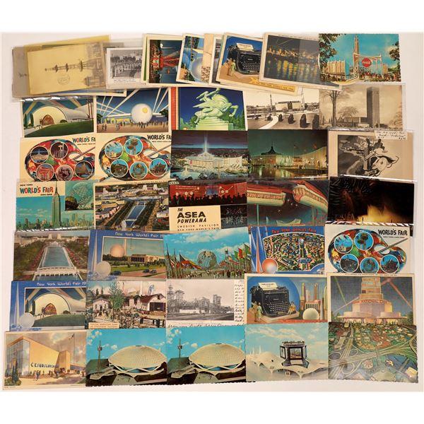 New York Worlds Fair Postcards  [138986]