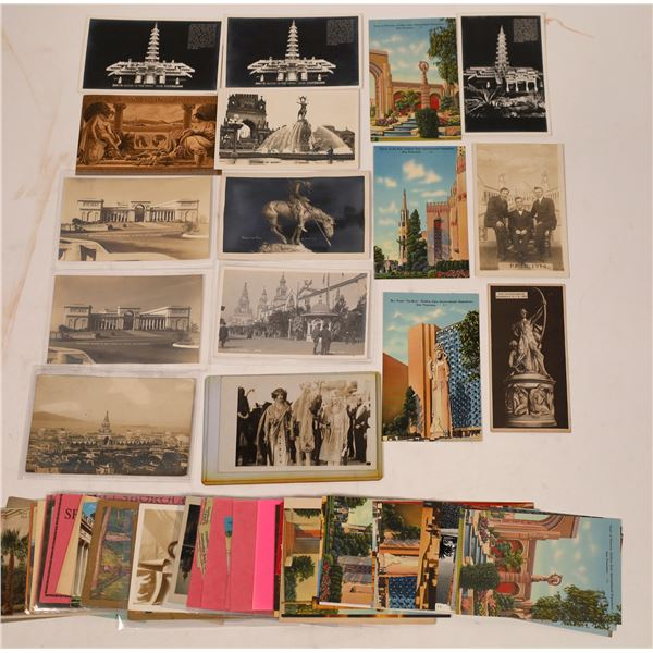Expositions Postcard Group (40)  [137912]