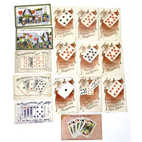 Gaming - Playing Card Themes (15 cards)  [138105]