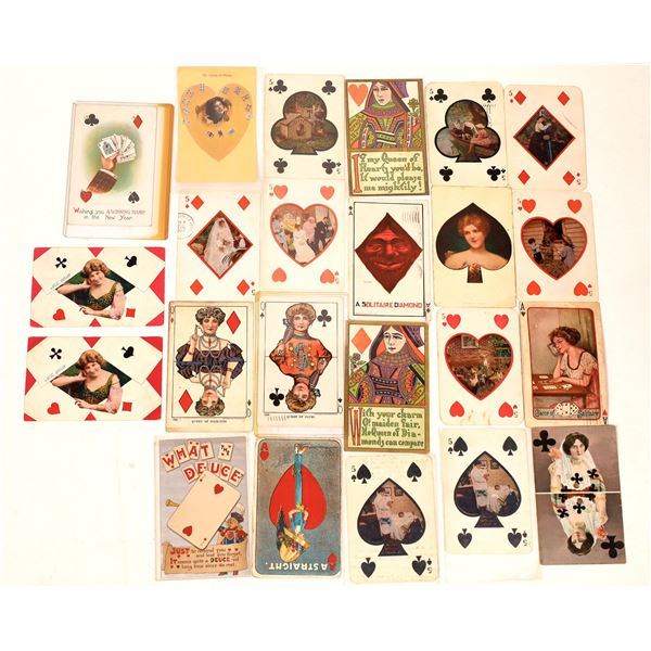 Gaming - Single Card Postcards (Approx  22)  [138104]