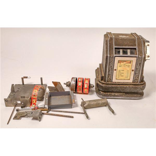 """Cigarette Trade Stimulator """"Bally Baby""""  [136829]"""