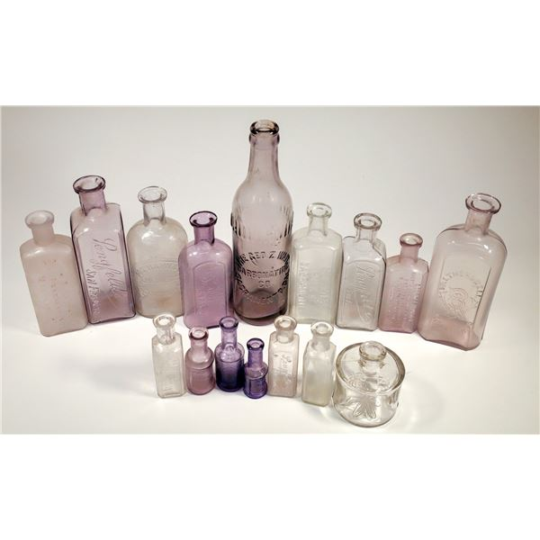 California Drug Bottles and Others (12)  [136017]