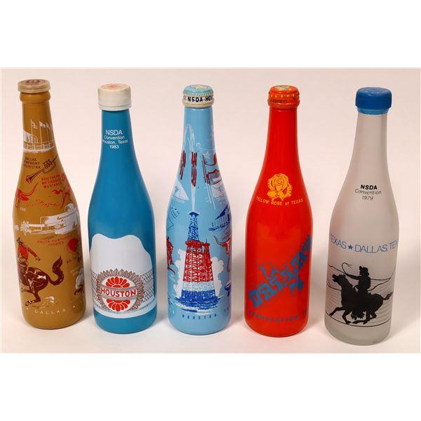 Texas Commemorative Sodas, Silkscreened Collection  [135051]