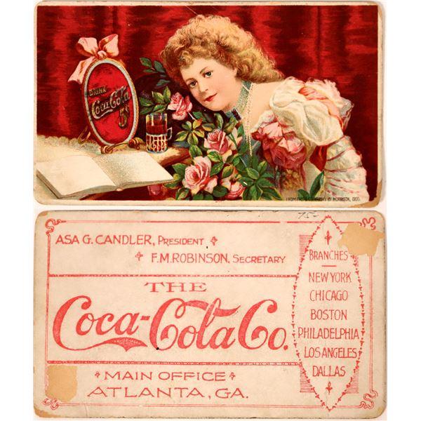 Early Coca-Cola Trade Card  [135720]