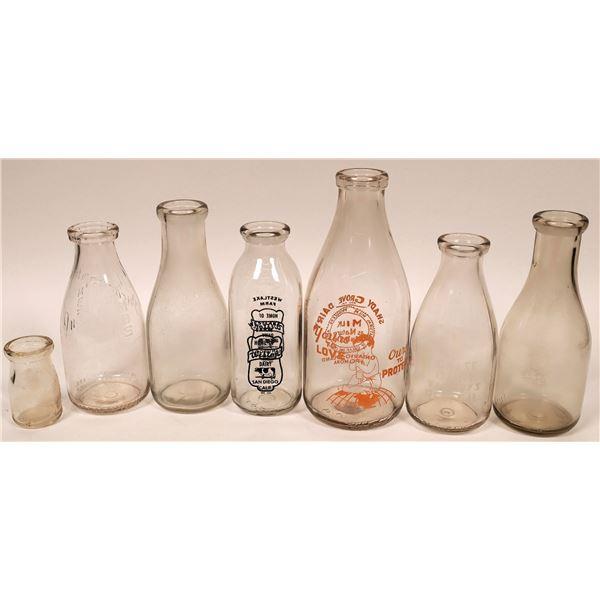 Milk Bottle Collection (7)  [135045]