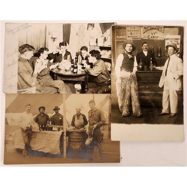 Old Saloon Postcards - 3  [138790]