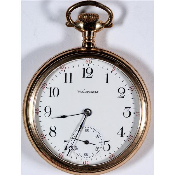 1908 Waltham Pocket Watch   [136543]