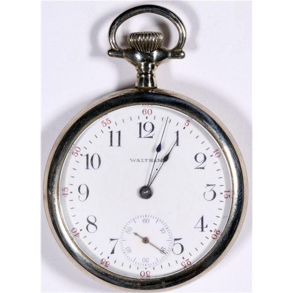 Nickle Waltham Pocket Watch  [136545]