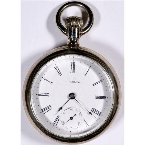 Railroad Waltham Pocket Watch 1883  [136546]