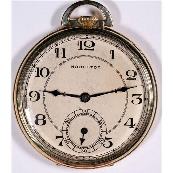 Hamilton Pocket Watch  [136561]