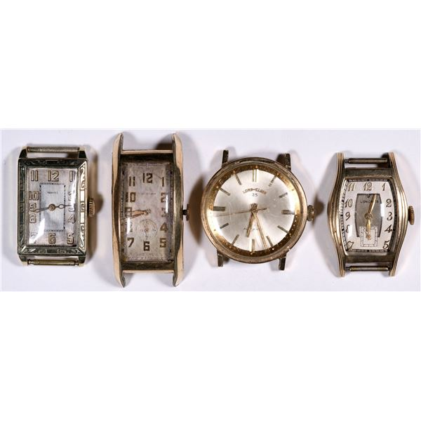 Four Wrist Watches  [136563]