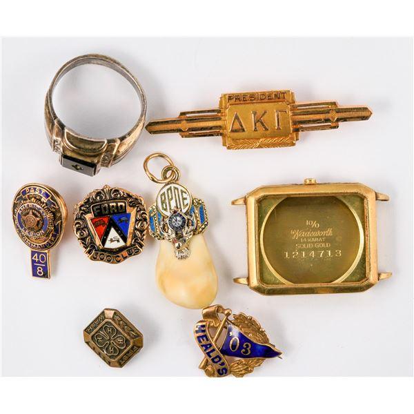 14K Gold Insignia Items  [137285]
