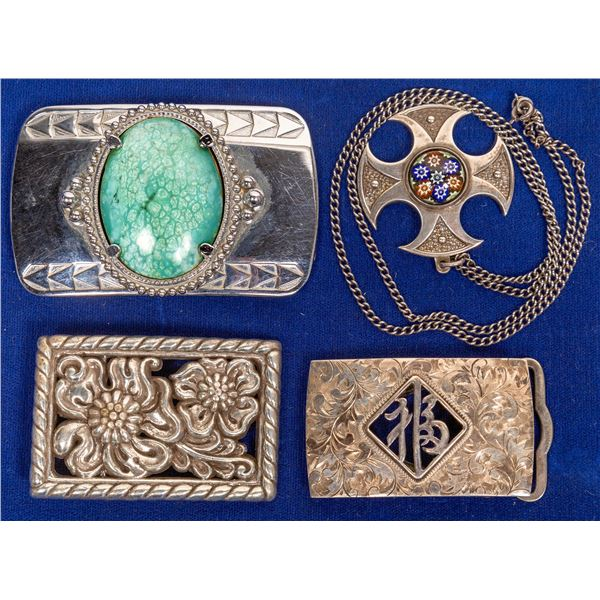 Belt Buckles and Pendant  [132797]