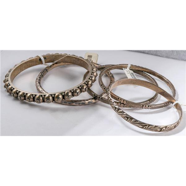 Sterling Silver Bracelets (5)  [135610]