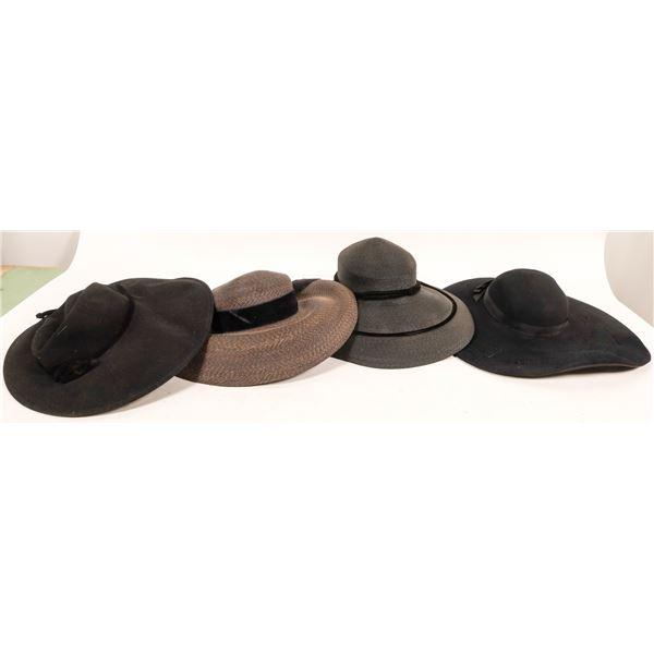 Broad Rim Black Hat Group (4)  [136691]