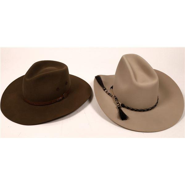 Stetson Hat Pair  [135040]