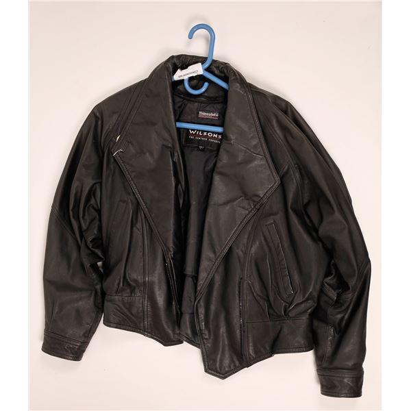 Black Leather Jacket  [136568]