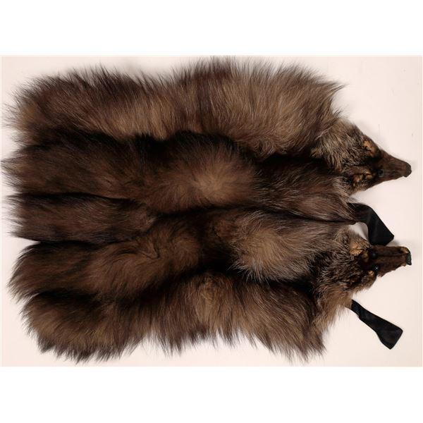 Fox Fur Shoulder Wrap   [137449]