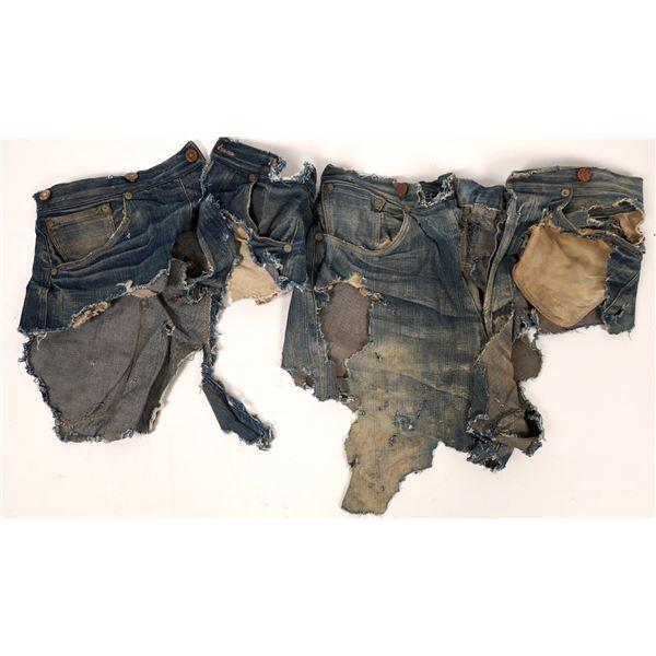 Levi Jeans c1880 Fragments  [136688]